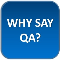Why say QA?