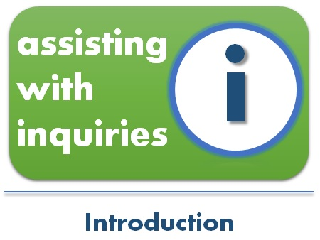 assiting with inquiries  intro2